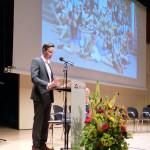 Erik Ammerlaan presenteert de reünistenvereniging