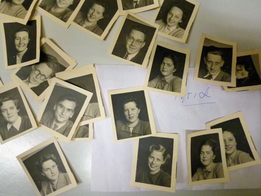 Pasfoto's uit 1951. Wie is wie?